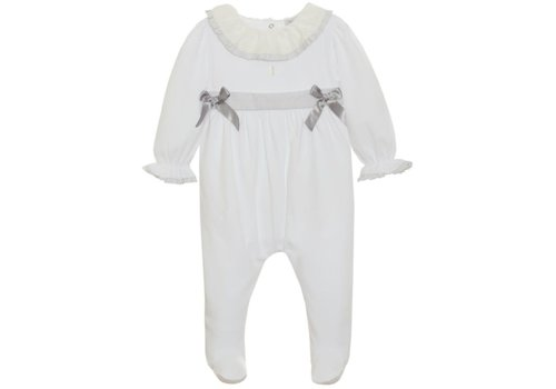 Patachou Patachou Baby Girl Playsuit - Knit White