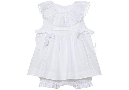 Patachou Patachou Baby Girl Romper Woven White