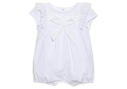 Patachou Patachou Baby Girl Romper Knit White