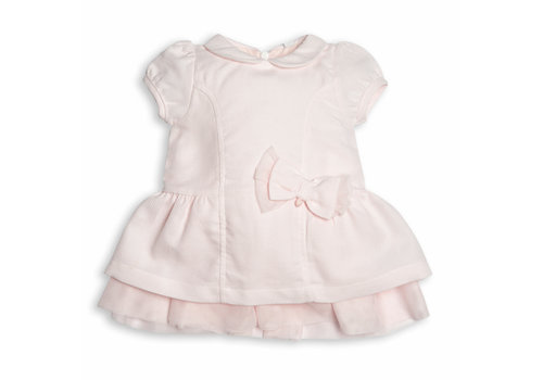 My First Collection First Bo G Pink Dress Xl Bow 04  Pink