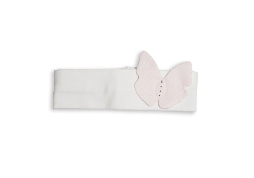 My First Collection First G Hairband Butterfly 0104White-Pink