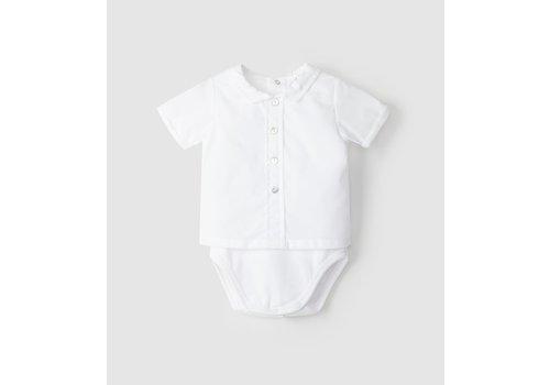 Laranjinha Laranjinha Body-Shirt V1201 White