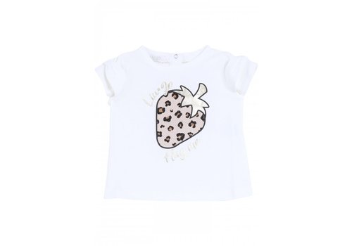 Liu Jo Liu Jo White Strawberry T-Shirt