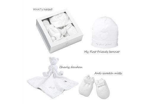 My First Collection First Gift Set Bonnet/Mitten/Doudou