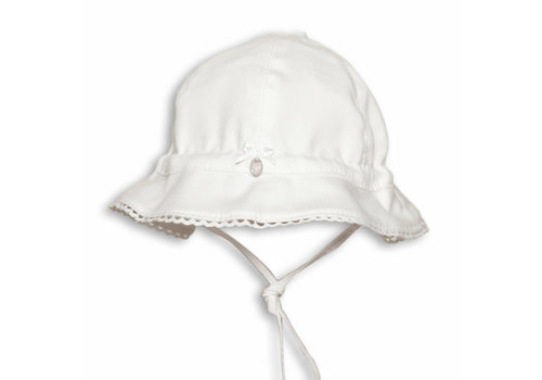 My First Collection First White Girls Hat Tulip 01  White