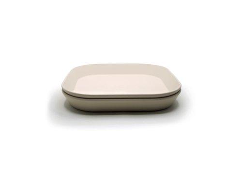 Mushie Mushie Plates Square - Ivory