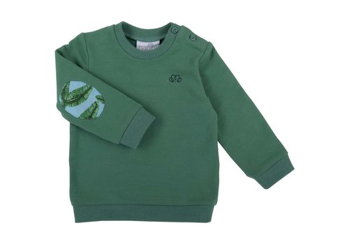 Natini Natini Sweater Leaves Green