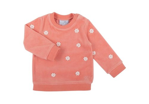 Natini Natini Sweater Flower Coral