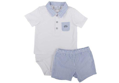 Natini Natini Pyjama Stripes White/Blue