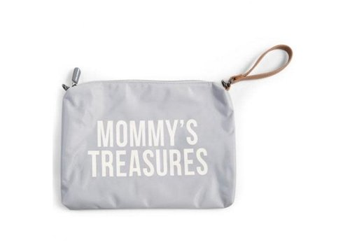 Childhome Childhome Mommy Clutch Toilettas Grey - Off White