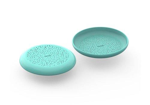 Quut Quut Flying Disc + Sand Sifter Vintage Blue