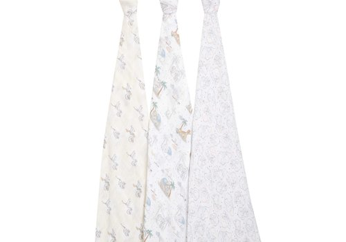 Aden & Anais Aden + Anais My Darling Dumbo 3-Pack Classic Swaddles
