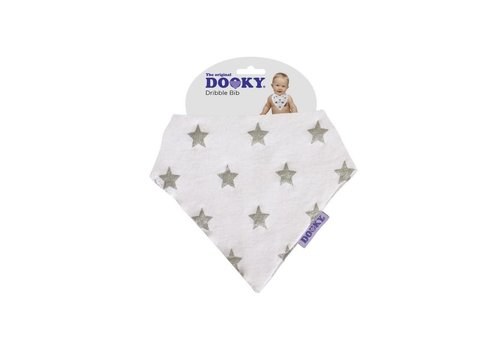 X - Dooky - Dribble Bib - Silver Star