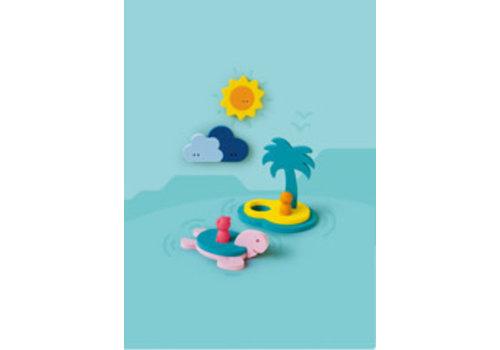 Quutopia Quutopia Badspeelgoed Treasure Island Bath Puzzle