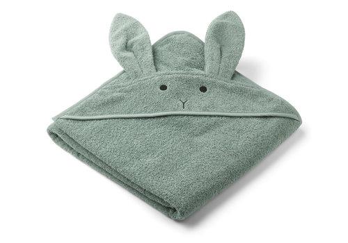 Liewood Liewood Augusta Hooded Towel Rabbit Peppermint