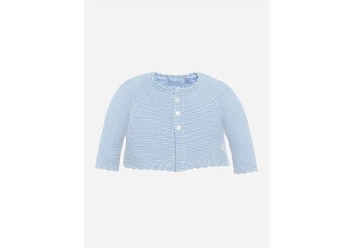 Patachou Patachou Unisex Coat - Knit Jersey BLUE