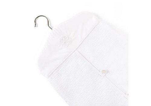 Theophile & Patachou Theophile & Patachou Luierzak Model Kleerhanger - Gewafeld - Cotton White