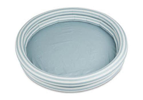 Liewood Liewood Savannah pool Stripe: Sea blue/creme de la creme