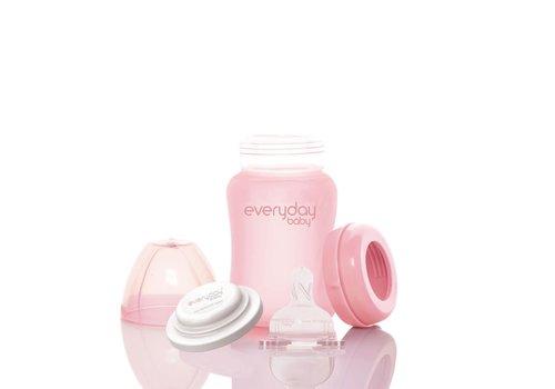 Everyday Baby Everyday Baby Glazen fles 150ml Rose Pink