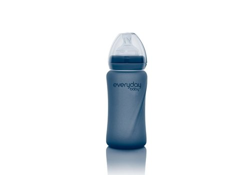 Everyday Baby Copy of Everyday Baby Glazen fles 150ml Quiet Grey