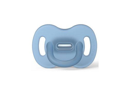 Suavinex SX - BASIC - Smoothie - Sili. - Reversible - 0/6M - Bleu