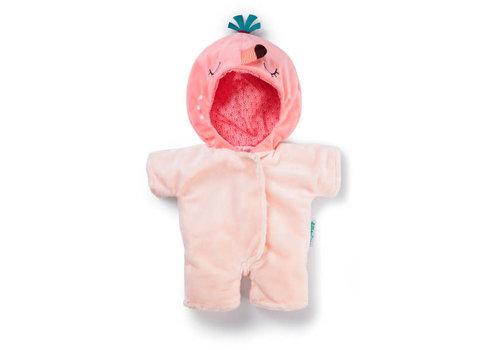 Lilliputiens Lilliputiens Anais Poppen-onesie Flamingo