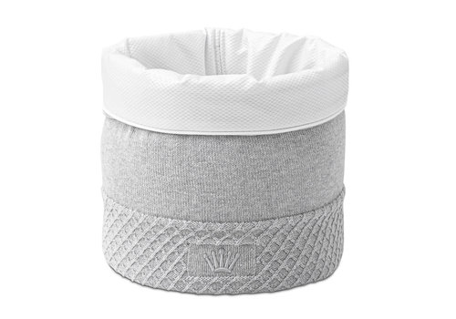 My First Collection First Dixie Vanity Basket Grey