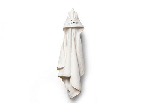 my memi my memi Bamboo Big Cream Towel - Cat 70x140