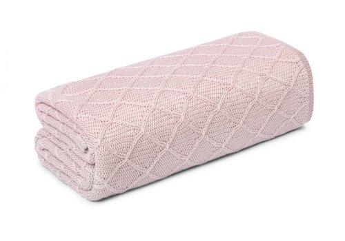 my memi my memi Bamboo Swaddle Blanket / Light Blanket 90x90 Pale Pink - Wafer