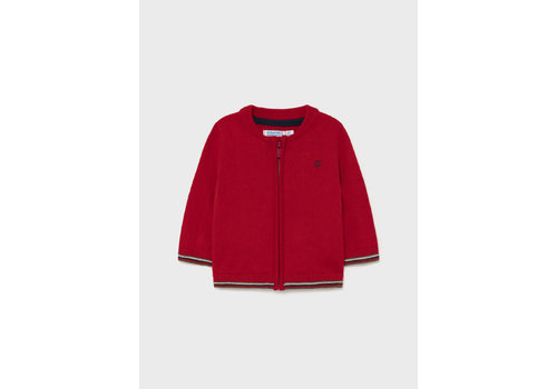 Mayoral Mayoral Basic Knitting Pullover Red  361-22