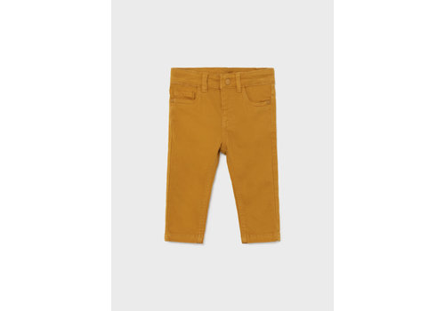 Mayoral Mayoral 5 Pocket Slim Fit Basic Pant  Ochre  563-29