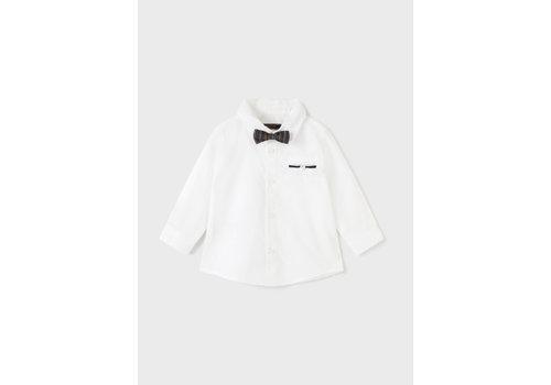 Mayoral Mayoral L/S Dress Shirt  White  2149-21