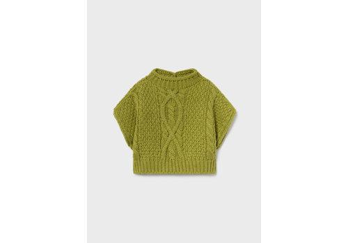 Mayoral Mayoral Knitting Vest  Olive  2389-67
