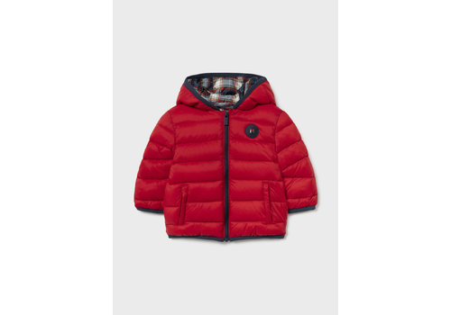 Mayoral Mayoral Padded Coat With Bag    Red  2415-70