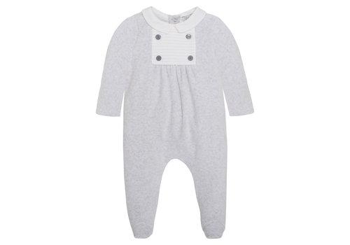 Patachou Patachou Baby Boy Playsuit Knit Grey Melange