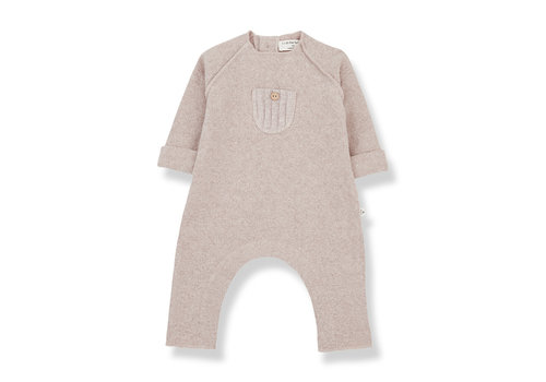 1+ In The Family 1+ In The Family Moise Jumpsuit Nude