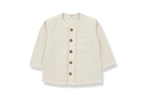 1+ In The Family 1+ In The Family Custo Shirt Alabaster