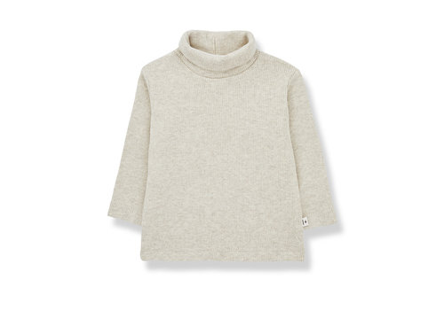 1+ In The Family 1+ In The Family Ares Turtleneck Top Alabaster
