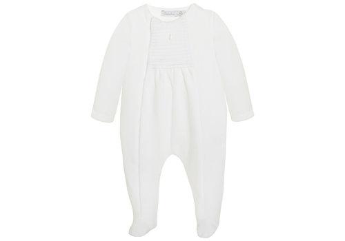 Patachou Patachou Baby Unisex Playsuit - Knit White