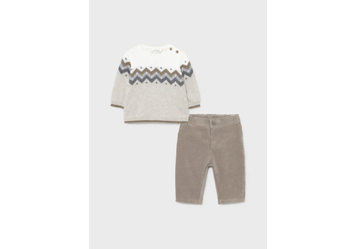 Mayoral Mayoral Set Long Trousers With Sweate Vison  2524-84