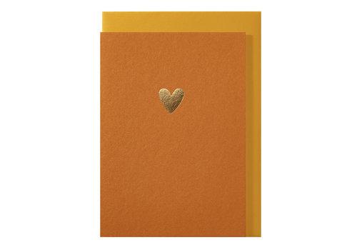 Papette LIEF | Postkaart met envelop | Hartje Oranje