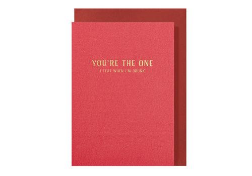 Papette LIEF | Postkaart met envelop | You're The One
