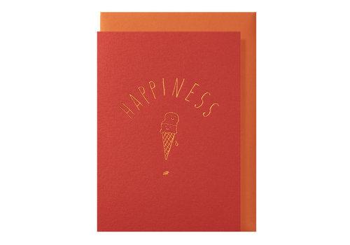 Papette LIEF | Postkaart met envelop | Happiness