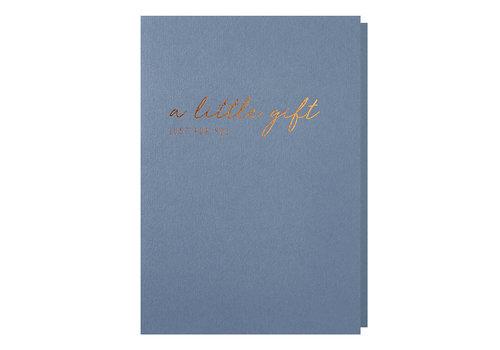 Papette OCEAN | Wenskaart met envelop | A little gift, just for you