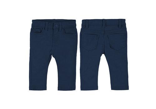 Mayoral Mayoral 5 Pocket Slim Fit Basic Pant  Blue 563-32