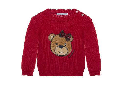 Patachou Patachou Baby Girl Sweater - Tricot Red