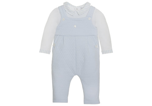Patachou Patachou Baby Boy Romper - Knit Blue
