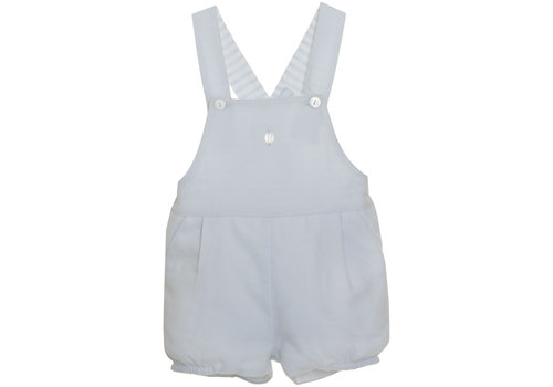 Patachou Patachou Baby Boy Romper - Woven Blue