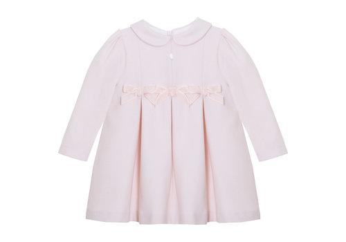 Patachou Patachou Girl Dress - Woven Melange Pink