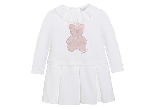 Patachou Patachou Girl Dress - Knit Ecru